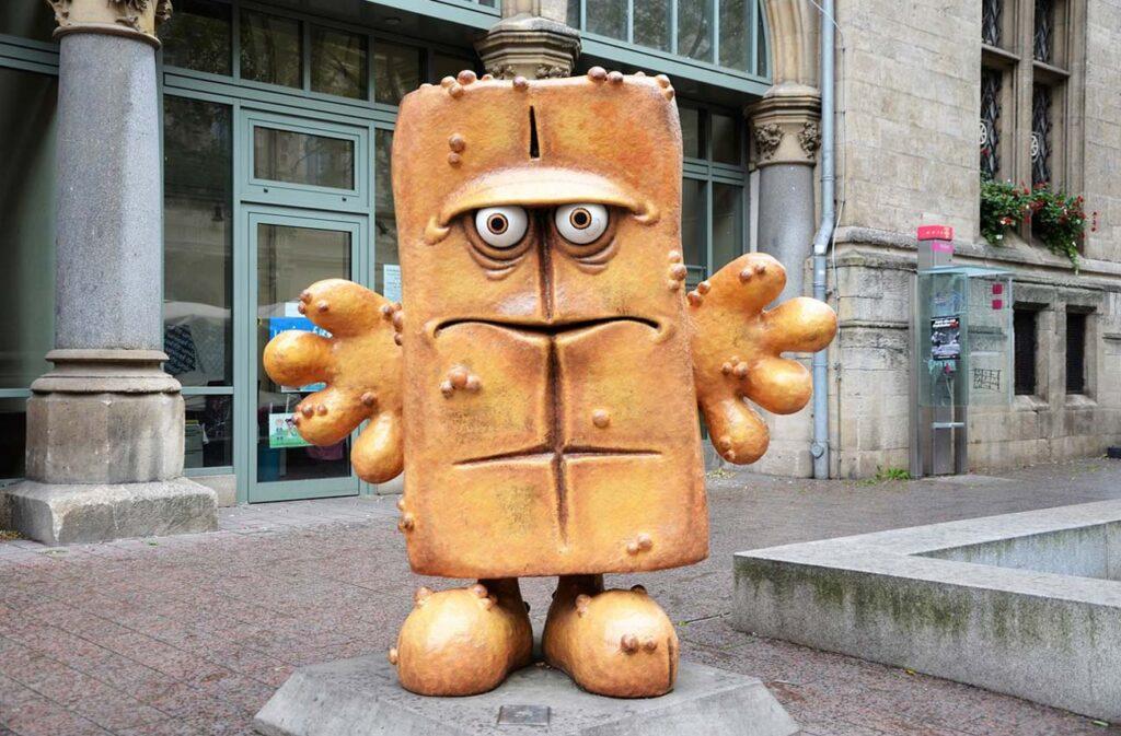 Bernd das Brot a Erfurt articolo