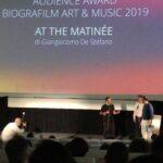 Premiazione Audience Award Biografilm Art Music 2019